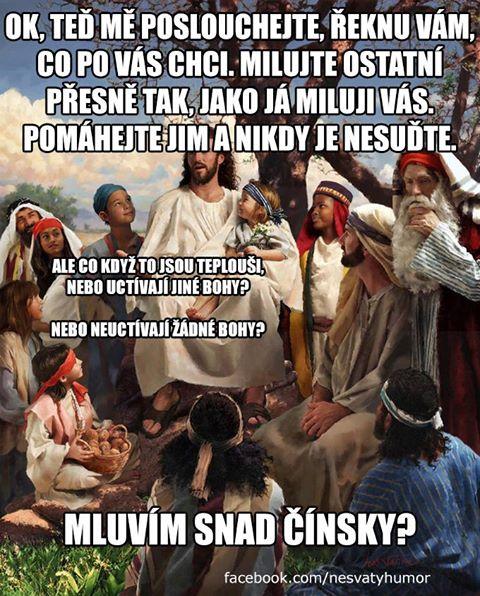 "Ježíš - ""ukradeno"" z Ksichtoknihy"