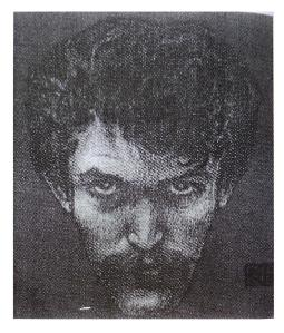 Karel Hlaváček - autoportrét (1897)