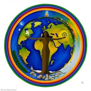 Logo festivalu Zázračná planeta Země