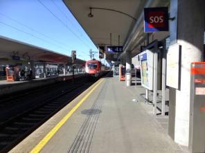 Hlavní nádraží v Linci