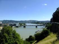 Pohled na Dunaj od zámku