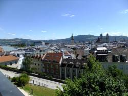 Pohled na centrum od zámku