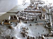 Část modelu města