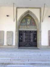 Kostel svatého Havla - západní portál