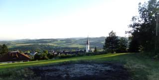 Výhled od kaple