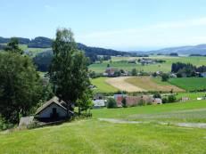 Pohled na Lasberg od severu