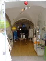 Pfarrgasse - interiér obchodu