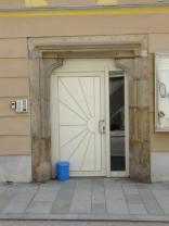Pfarrgasse - portál