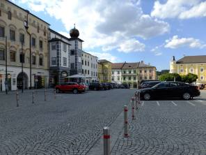 Severozápadní část náměstí