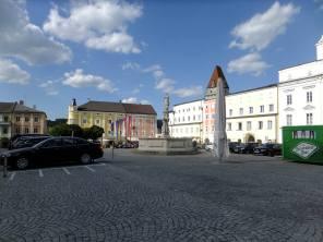 Severovýchodní část náměstí