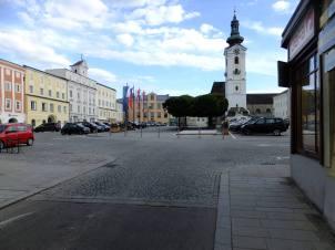 Pohled na náměstí od severu