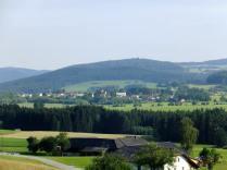 Pohled z Kollernu na Oberhaid (Horní Dvořiště)