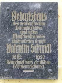 Původní pamětní deska