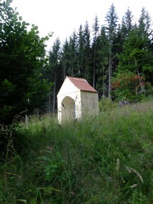 Panna Maria Pomocná - vedlejší kaplička